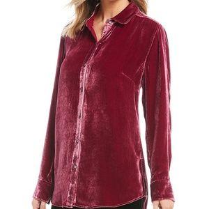 NWT Pink Velvet shirt